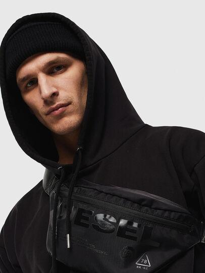 Diesel - F-SUSE BELT, Black - Belt bags - Image 6