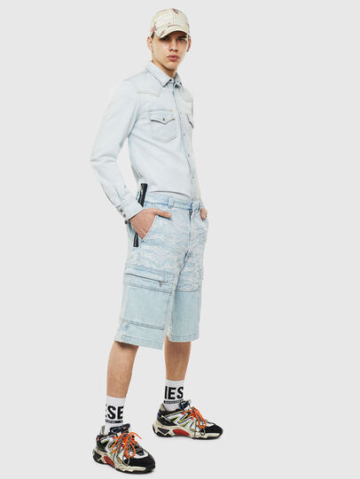 Diesel - D-EAST-P, Blue Jeans - Denim Shirts - Image 6