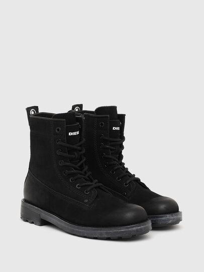 Diesel - D-THROUPER DBB ZC W, Black - Ankle Boots - Image 2