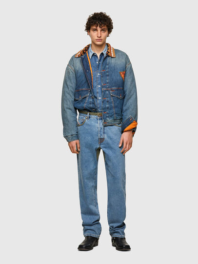 Diesel - DxD-J3, Light Blue - Denim Jackets - Image 5