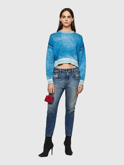 Diesel - Fayza 09A08, Medium blue - Jeans - Image 5