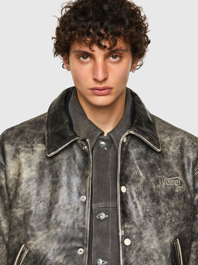 Diesel - DxD-2, Black - Leather jackets - Image 6
