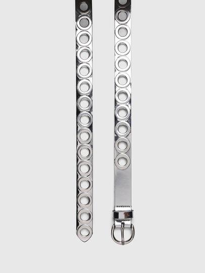 Diesel - B-SPARK, Silver - Belts - Image 3