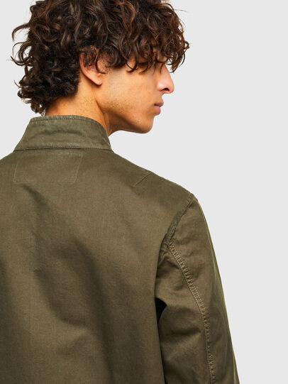 Diesel - J-HALLS-A, Military Green - Jackets - Image 4