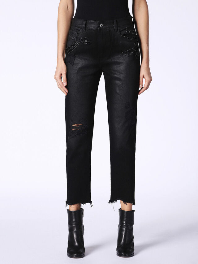 DE-CLAIRY, Black Jeans