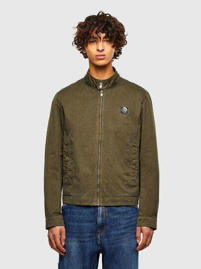Diesel - J-HALLS-A, Military Green - Jackets - Image 1