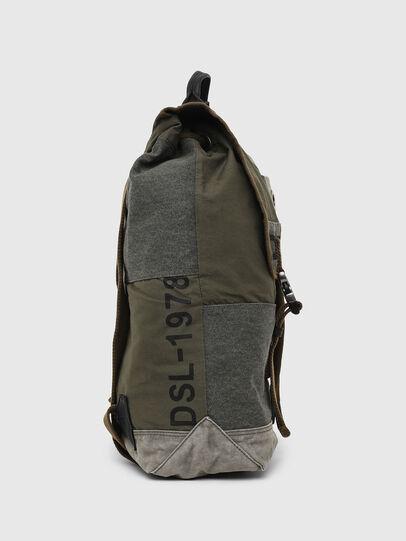 Diesel - VOLPAGO BACK ARMY, Olive Green - Backpacks - Image 3