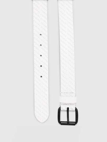 Diesel - B-SOLESINO, White - Belts - Image 3