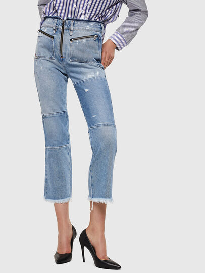 Diesel - D-Earlie 069GV, Light Blue - Jeans - Image 1