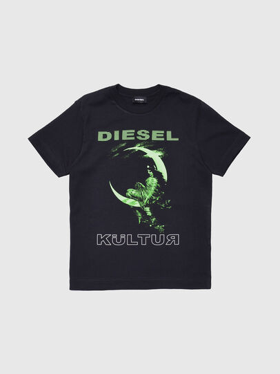 Diesel - TJUSTXS, Black - T-shirts and Tops - Image 1