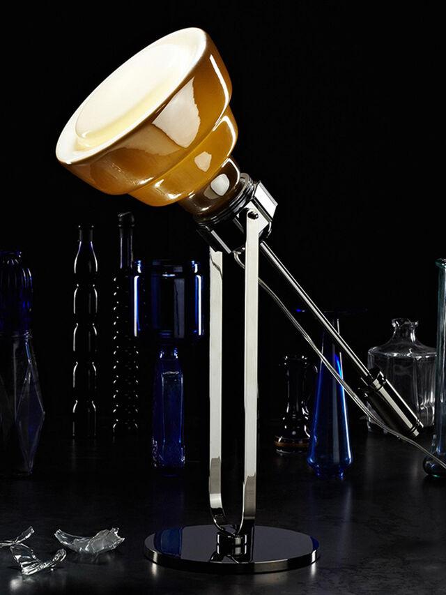 Living GLAS TAVOLO CROMO, Silver - Table Lighting - Image 2