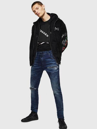 Diesel - Krooley JoggJeans 069JE, Dark Blue - Jeans - Image 6