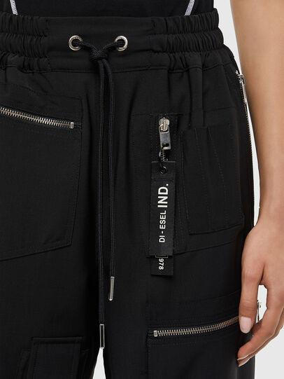 Diesel - P-LEX-A, Black - Pants - Image 4
