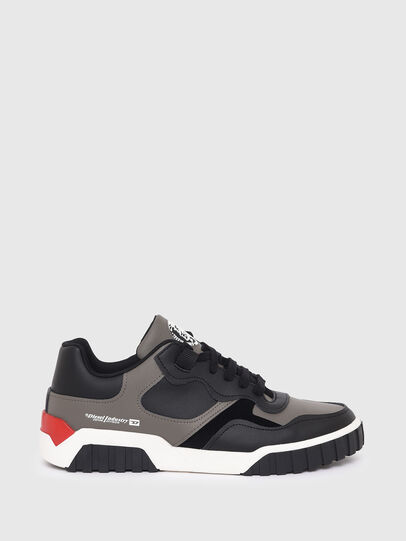 Diesel - S-RUA LOW SK, Grey - Sneakers - Image 1