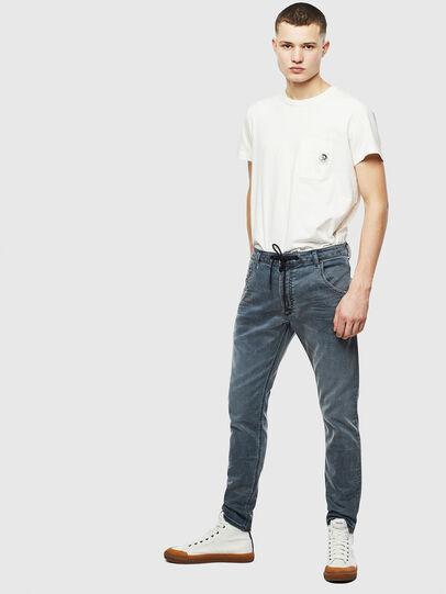 Diesel - Krooley JoggJeans 069LT, Dark Blue - Jeans - Image 5