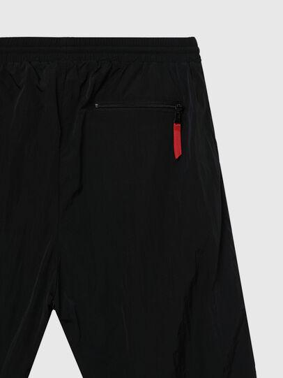 Diesel - UMLB-DARLEY, Black/Red - Pants - Image 4