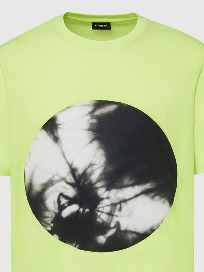 Diesel - T-MOONY-X2, Green Fluo - T-Shirts - Image 3