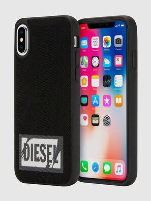 BLACK DENIM IPHONE X CASE,  - Cases