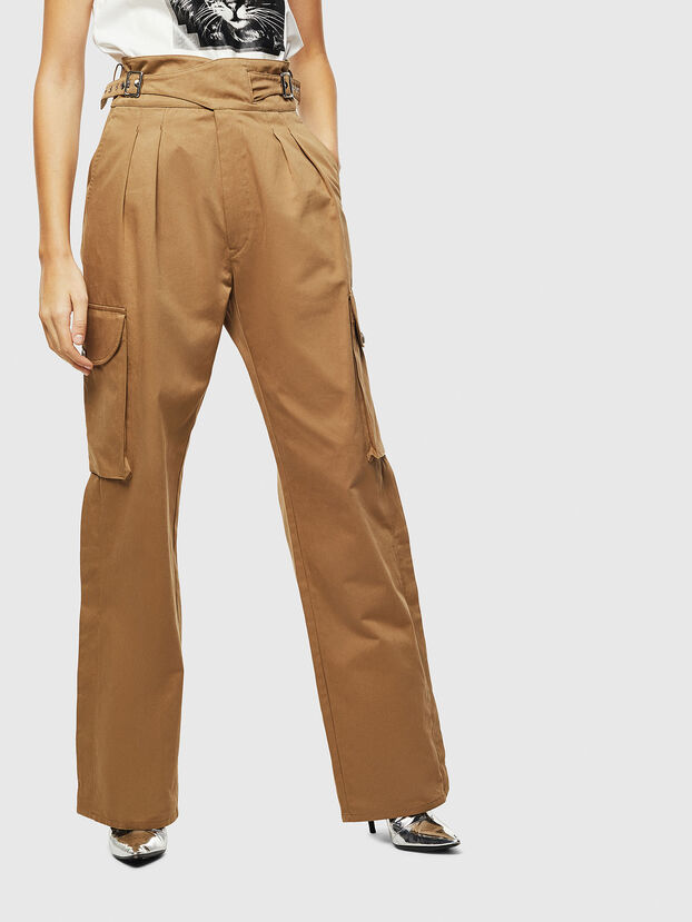 P-CHIKU, Light Brown - Pants