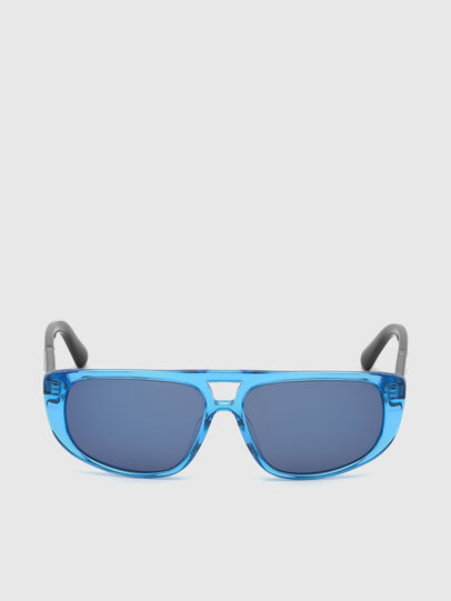 Diesel - DL0306, Blue/Black - Kid Eyewear - Image 1