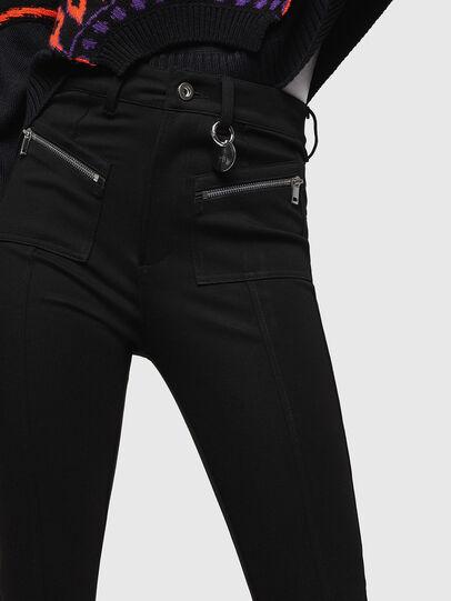 Diesel - P-NIKIA, Black - Pants - Image 3