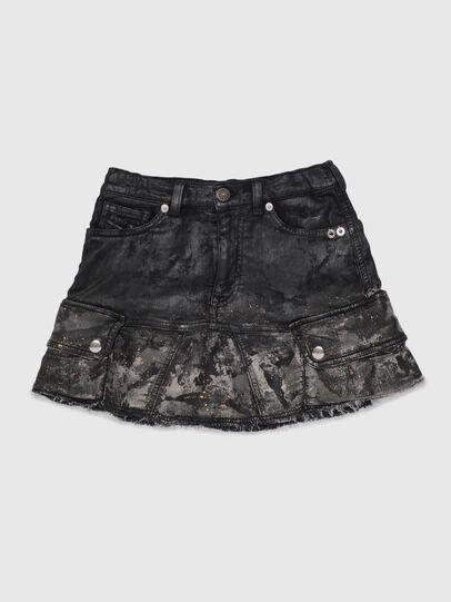 Diesel - GAMATA JOGGJEANS, Black - Skirts - Image 1