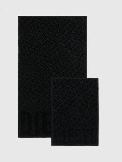 Diesel - COPP 3DLOGO, Black - Bath - Image 2