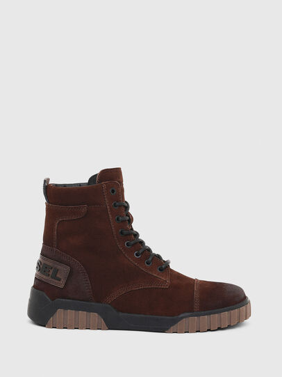 Diesel - H-RUA AM, Brown - Sneakers - Image 1