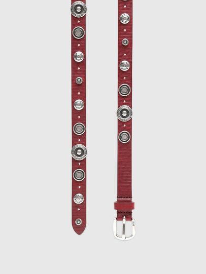 Diesel - B-GAUCHO, Red - Belts - Image 3