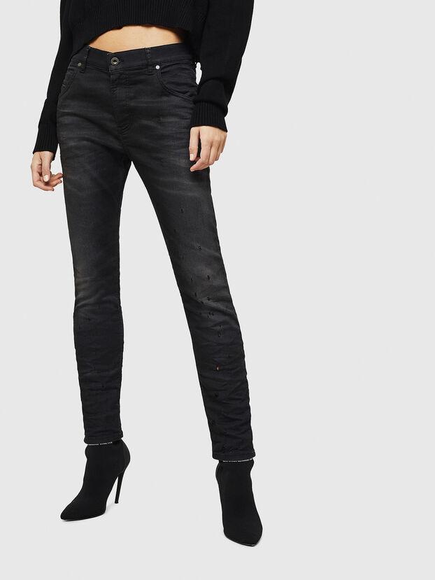 Krailey JoggJeans 069GN, Black/Dark grey - Jeans