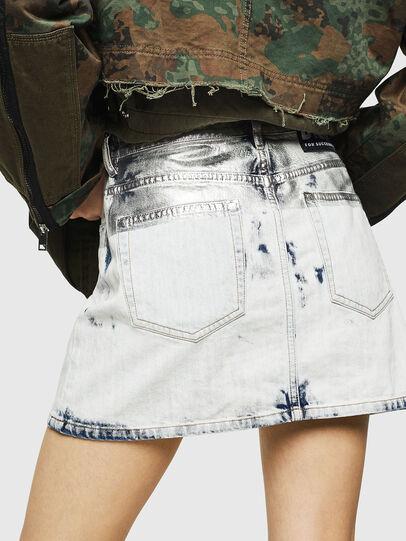 Diesel - DE-JODY-R, Light Blue - Skirts - Image 4