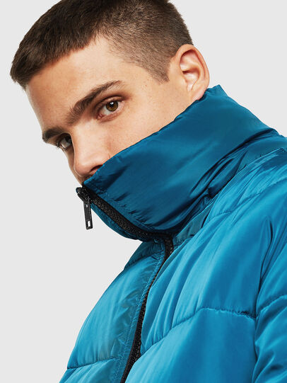 Diesel - W-SMITH-YA-WH, Blue Marine - Winter Jackets - Image 4