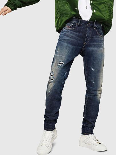 Diesel - D-Strukt 0890W, Dark Blue - Jeans - Image 1