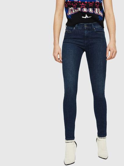 Diesel - D-Roisin 0890G, Dark Blue - Jeans - Image 1
