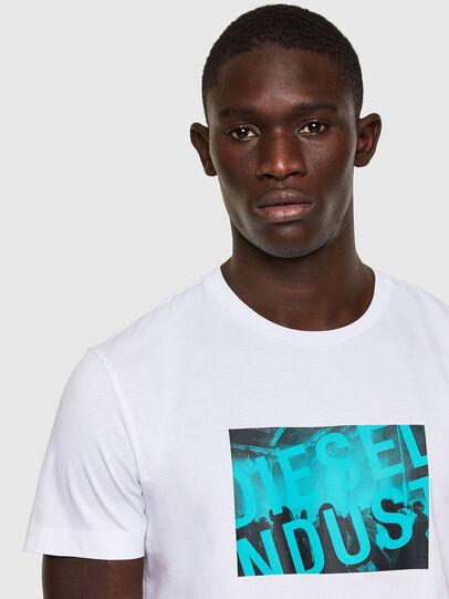 Diesel - T-DIEGOS-K16, White - T-Shirts - Image 2