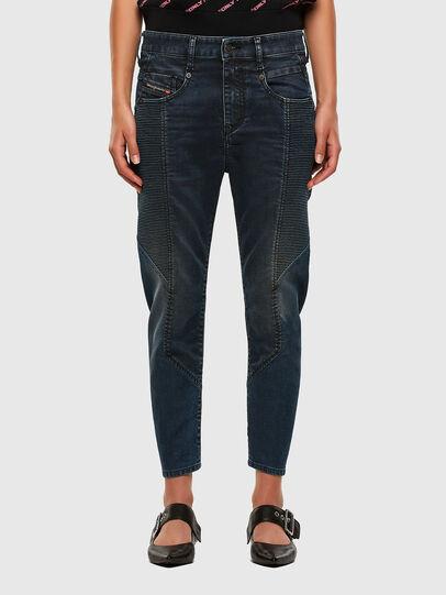 Diesel - Fayza JoggJeans 069PQ, Dark Blue - Jeans - Image 1