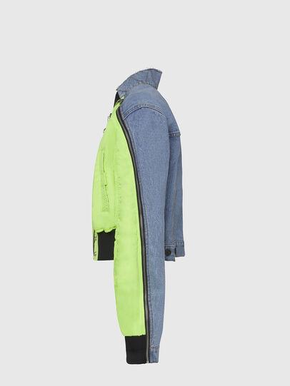 Diesel - G-DANIEL, Blue/Green - Jackets - Image 3