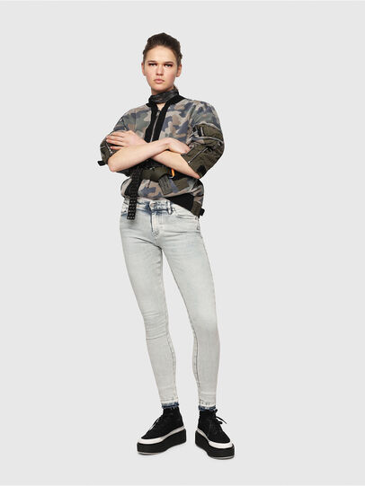 Diesel - Slandy 086AF, Light Blue - Jeans - Image 4