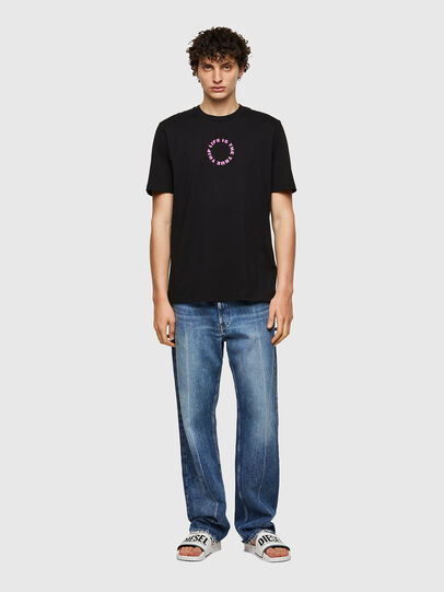 Diesel - T-JUST-B58, Black - T-Shirts - Image 4