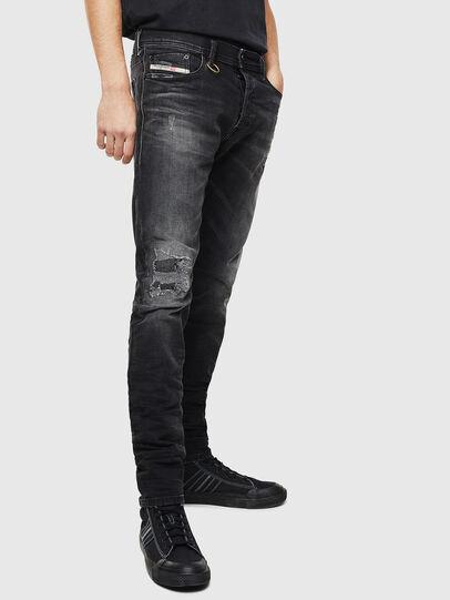 Diesel - Tepphar 069DW, Black/Dark grey - Jeans - Image 4