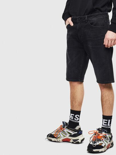 Diesel - THOSHORT, Black - Shorts - Image 4