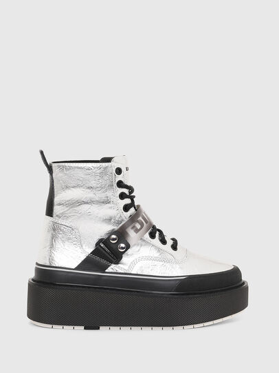 Diesel - H-SCIROCCO STRAP, Silver - Sneakers - Image 1