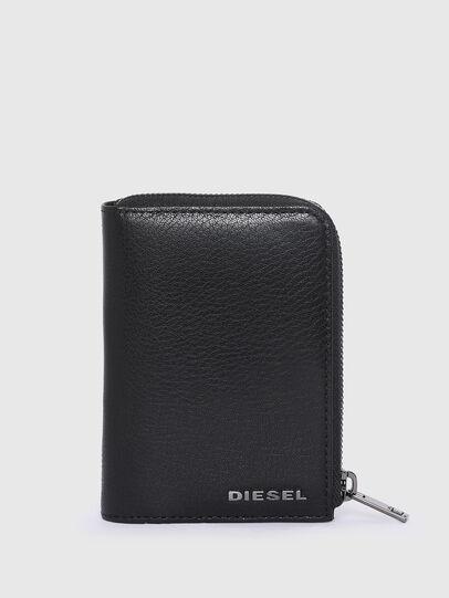 Diesel - L-12 ZIP, Blue/Black - Small Wallets - Image 1
