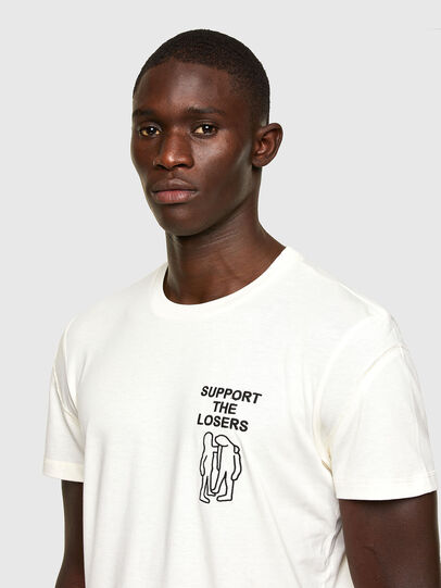 Diesel - T-DORYMO-A1, White - T-Shirts - Image 4