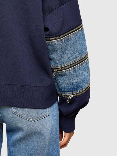 Diesel - M-AQUAMARINE, Blue - Knitwear - Image 3