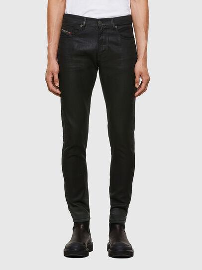 Diesel - D-Strukt JoggJeans 069QX, Black/Green - Jeans - Image 1