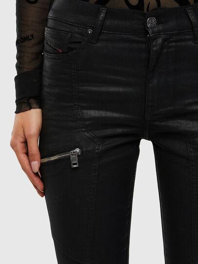 Diesel - D-Ollies JoggJeans 069RK, Black/Dark grey - Jeans - Image 3