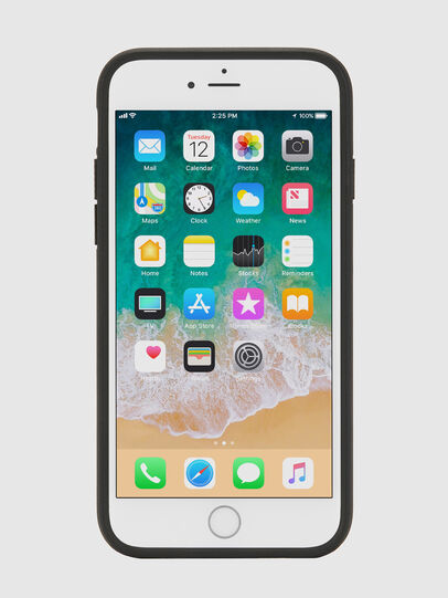 Diesel - MULTI TAPE BLACK/WHITE IPHONE 8 PLUS/7 PLUS/6S PLUS/6 PLUS CASE, Black - Cases - Image 4