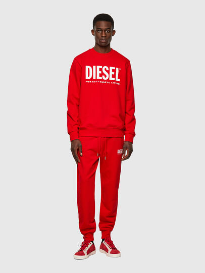 Diesel - S-GIRK-ECOLOGO, Red - Sweaters - Image 4