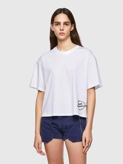 Diesel - T-BOWBOW, White - T-Shirts - Image 1